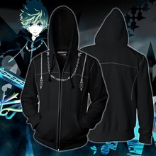 Kingdom Hearts Costume Hoodie Cosplay Anime Game Sweatshirts Men Women 2019 New