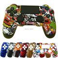 For Sony Dualshock 4 PS4 DS4 Wireless Controller Hydro Dipped Housing Front Shell Face Cover Top Case Sticker Bomb