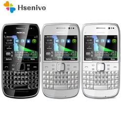E6 odnowiony oryginalny odblokowany Nokia E6 E6-00 2.4 'calowy 8MP aparat 3G WIFI Bluetooth FM Symbian OS telefon komórkowy darmowa wysyłka