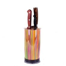 SATOSHI mantel messerblock separatoren küche kunststoff und mehrfarben lagerung inhaber stehen für messer 838-013