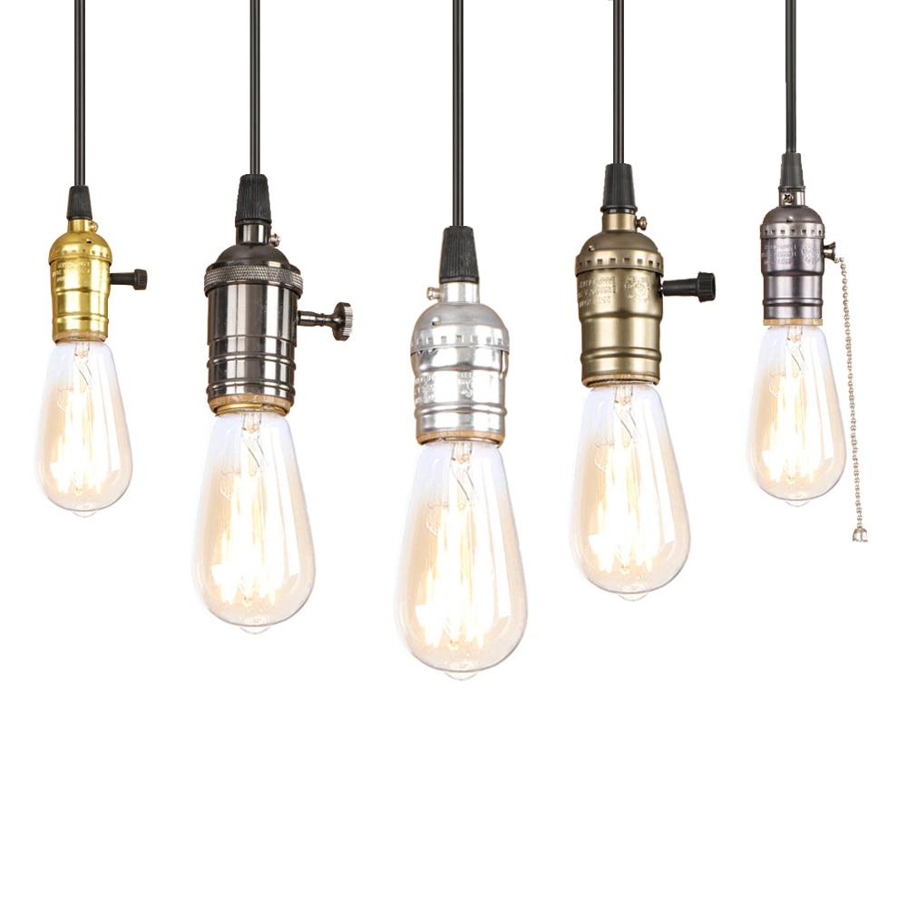 220 v led 12 styles hanging light fixture e27 restaurant bedroom living room kitchen