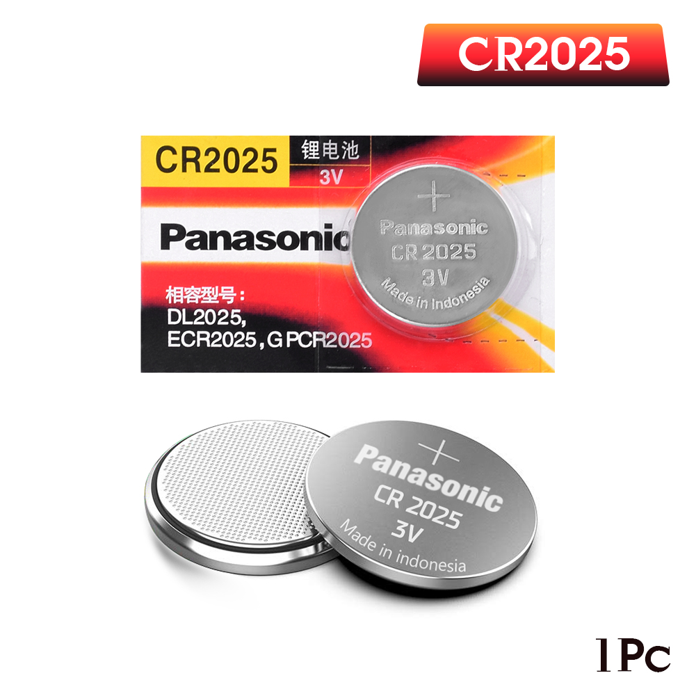 PANASONIC Original Brand 1pc Cr2025 ECR2025 BR2025 DL2025 KCR2025 LM2025 3v Button Battery Coin Lithium Battery For Watch
