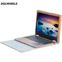DOLMOBILE Brown PU Leather Case Cover For Lenovo Yoga 720 13 3 Inch Laptop Notebook Protective