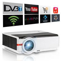 CAIWEI מובנה HDMI מקרן טלוויזיה DVB-T2 1080 p קולנוע ביתי קולנוע סרט משחק עבור חינוך בית ספר לעסקים Proyector Beamer