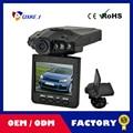 """Free shipping 120 Degree Wide Angle 2.5"""" LCD Screen 6 LED Night Vision Vehicle Car Detector camera Recorder Car DVRs Dash camera"""