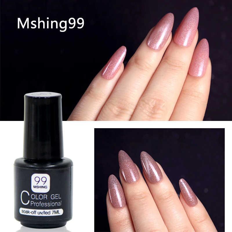 MSHING99 Gel Polish Set Tutto Per Manicure Semi Permanente Vernis basetop cappotto UV LED Gel Per Unghie Soak Off Unghie Artistiche Gel nail Polish