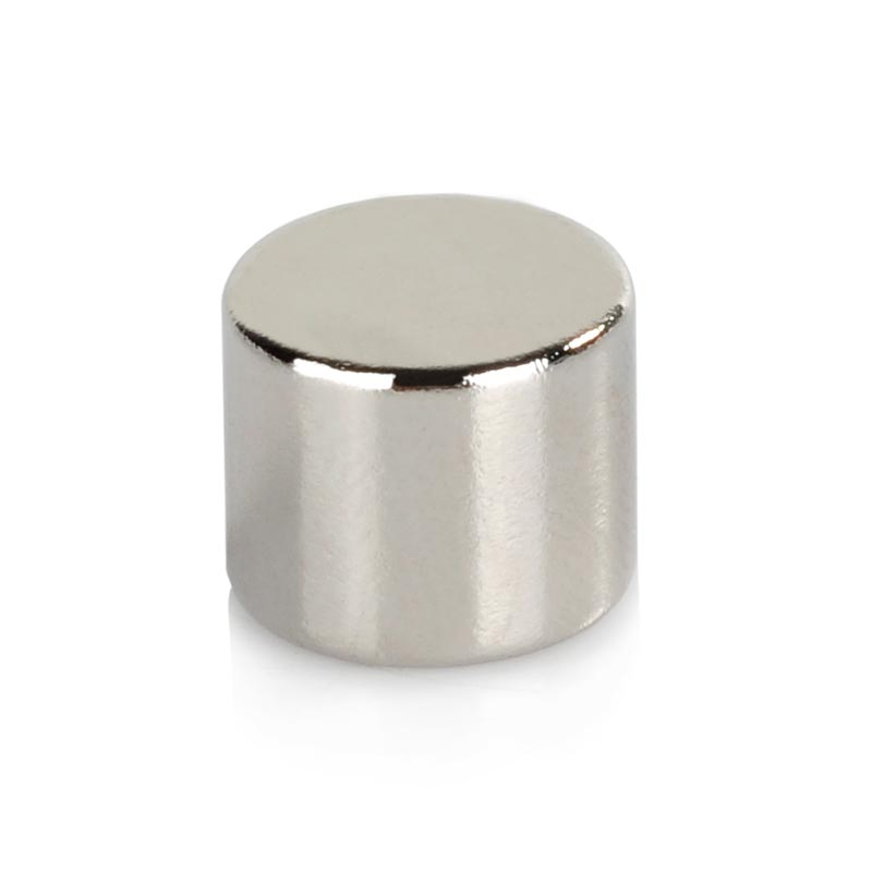 12X10mm Cylindrical NdFeB Magnets ND-FE-B Permanent strong magnetic small magnet sheet- Silver (10PCS) 5 x 1 9mm cylindrical ndfeb magnet silver 20pcs