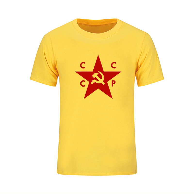Verano CCCP Camisetas Rusas Hombres URSS Unión Soviética Hombre - Ropa de hombre - foto 5
