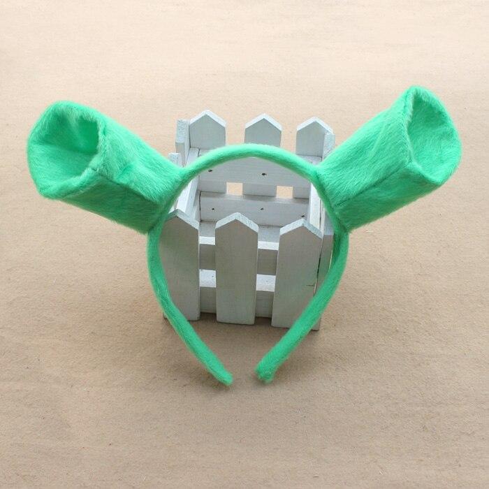 Free shipping ,Shrek ear headband,head circle,party costume item,masquerade party supplies
