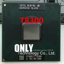 Frete grátis t8300 2.4g/3 m/800 slayq original pino pga versão oficial do notebook cpu suporta 965