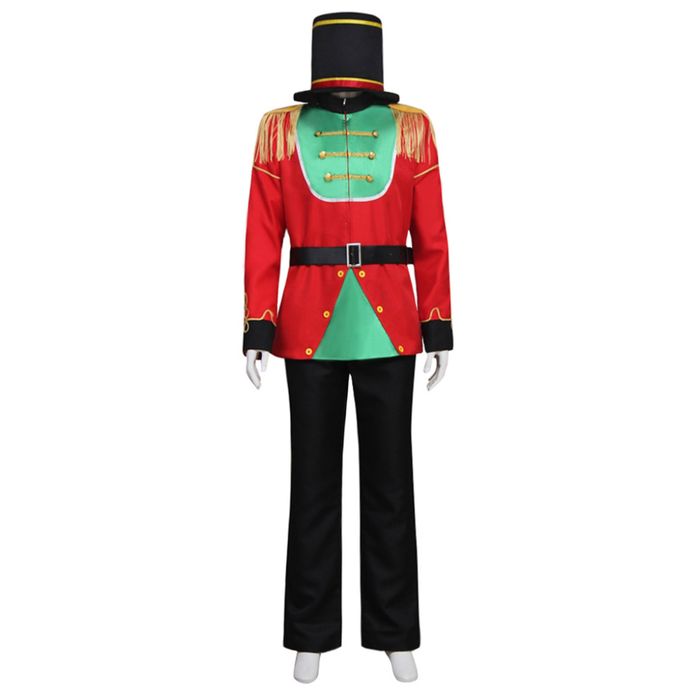 Barbie in The Nutcracker Puppet Stage Cosplay Costume Imperial Guard Costume Uniform For Adult Men Custom Made ...