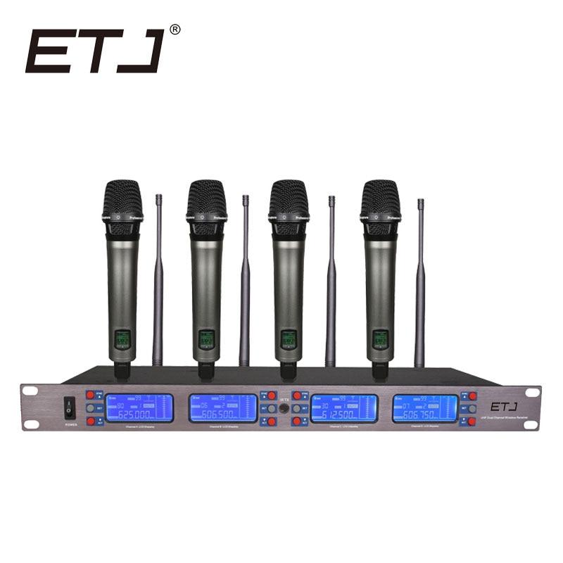 ETJ ET-4000 100 csatornás vezeték nélküli vezeték nélküli - Hordozható audió és videó