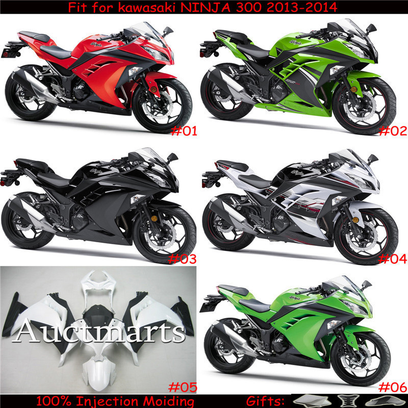 For kawasaki NINJA 300 ZX300 2013-2015 ZX300R Injection Moiding ABS Plastic motorcycle Fairing Kit Bodywork NINJA300 13-15 CB001 fit for kawasaki z1000 2010 2011 2012 2013 injection moiding abs plastic motorcycle fairing kit bodywork z1000 10 13 cb02
