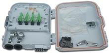 FTTH 8 コアファイバ終端ボックス 8 ポート 8 チャンネルスプリッタボックス屋内屋外繊維光学スプリッタボックス FTB ABS