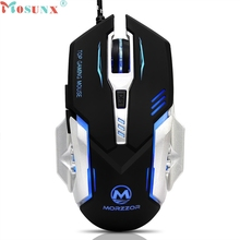 Mechanical Wired Gaming Mouse 3200 DPI 6D Buttons LED For PC Laptop LJJ0318