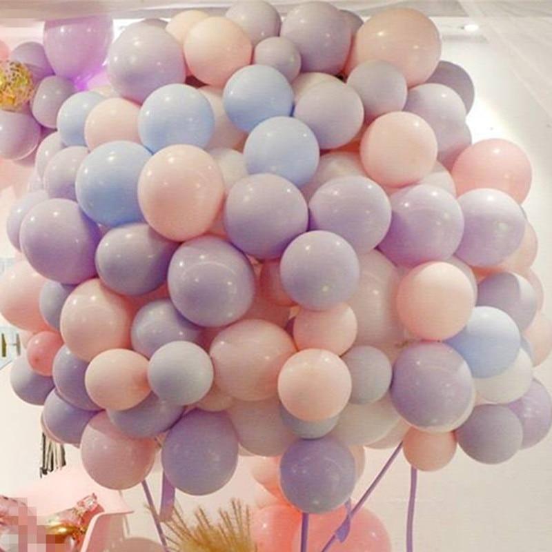 5pcs 12 Inch 2.2g Purple Heart Love Latex Helium Balloons Inflatable Wedding Balloon Children Birthday Party Decoration Air Ball Dog Toys