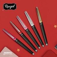 จำกัด! ญี่ปุ่น ZEBRA Rougel โลหะ JJ93 ปากกาเจลสีดำ 0.5 มม.