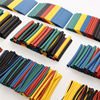 520Pcs 60mm 2:1 Polyolefin Heat Shrink HeatShrink Tube Tubing Kits Assorted Wrap Wire Kit RSFR-H 5 Colors Best