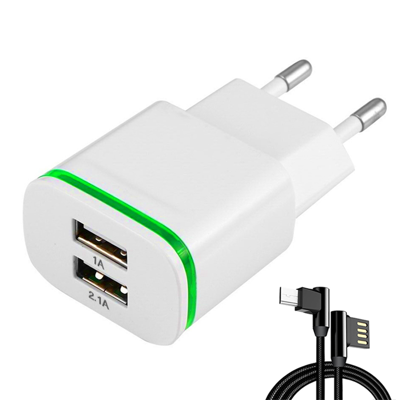 5V/2A Quick Charge Charger Android Cable Mini Phone Charger =For Samsung Xiaomi Huawei Sony Adapter Micro-USB Data Cord 1M Calbe ...