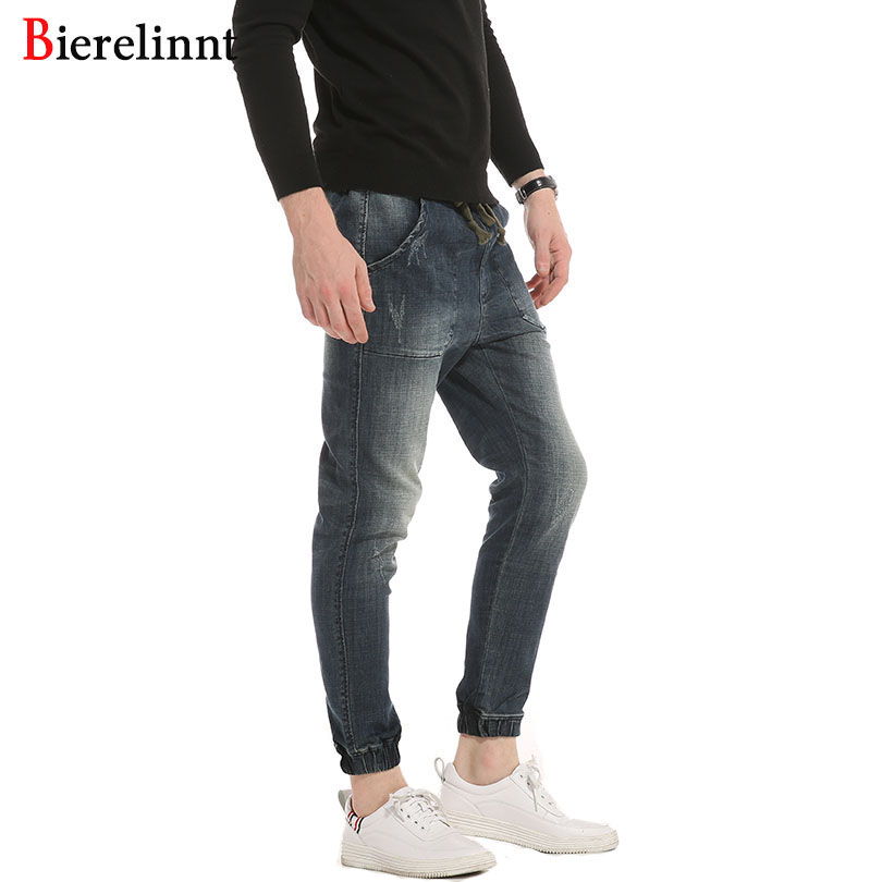 Autumn & Winter 2017 New Arrival Fashion Casual Cotton Loose Harem Pants Jeans Men,Good Quality Hot Sale Denim Men Jeans,018