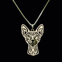 Ожерелье с подвеской в виде кошки 12 шт/лот