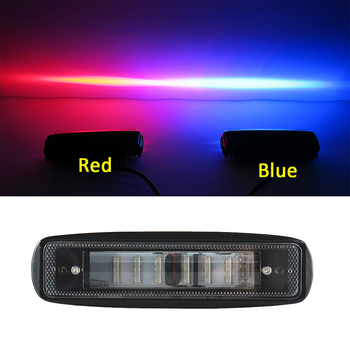 Newest Led Work Light Flood Len 30W Driving Light Red Blue White Offroad Lamp 12v Auxiliary Off-road Bulb Mini Size 4x4 SUV ATV