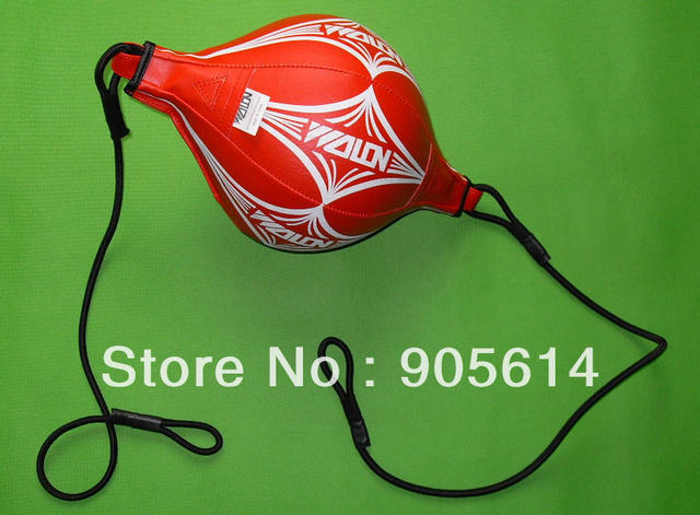 Training arts speedball boxing punch punching bag speed ball Thai Red