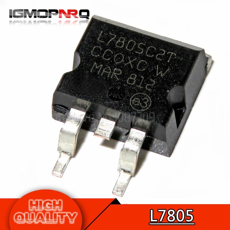 10pcs/lot L7805 LM7805 three-terminal regulator 1.5A / 5V TO-263 original Product10pcs/lot L7805 LM7805 three-terminal regulator 1.5A / 5V TO-263 original Product