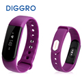 Diggro id101 pulseira banda de freqüência cardíaca inteligente para andriod ios ip67 esporte rastreador de fitness call/sms lembrete monitor de sono relógio