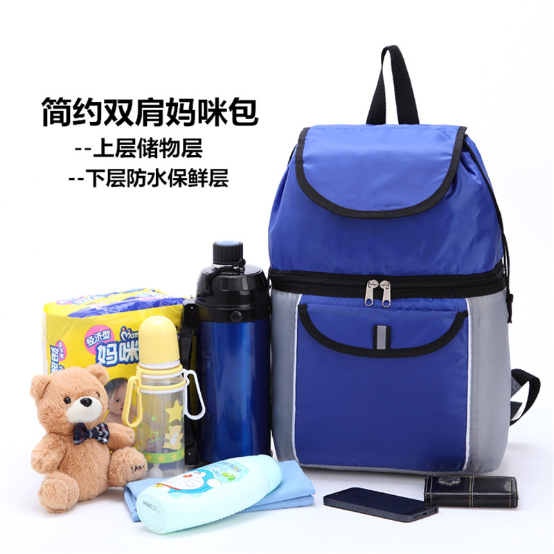Free Shipping Oxford Quality Blue Color Picnic Cooler Bags Lunch Bag Thermal Bags for Food Handbags LYBW013