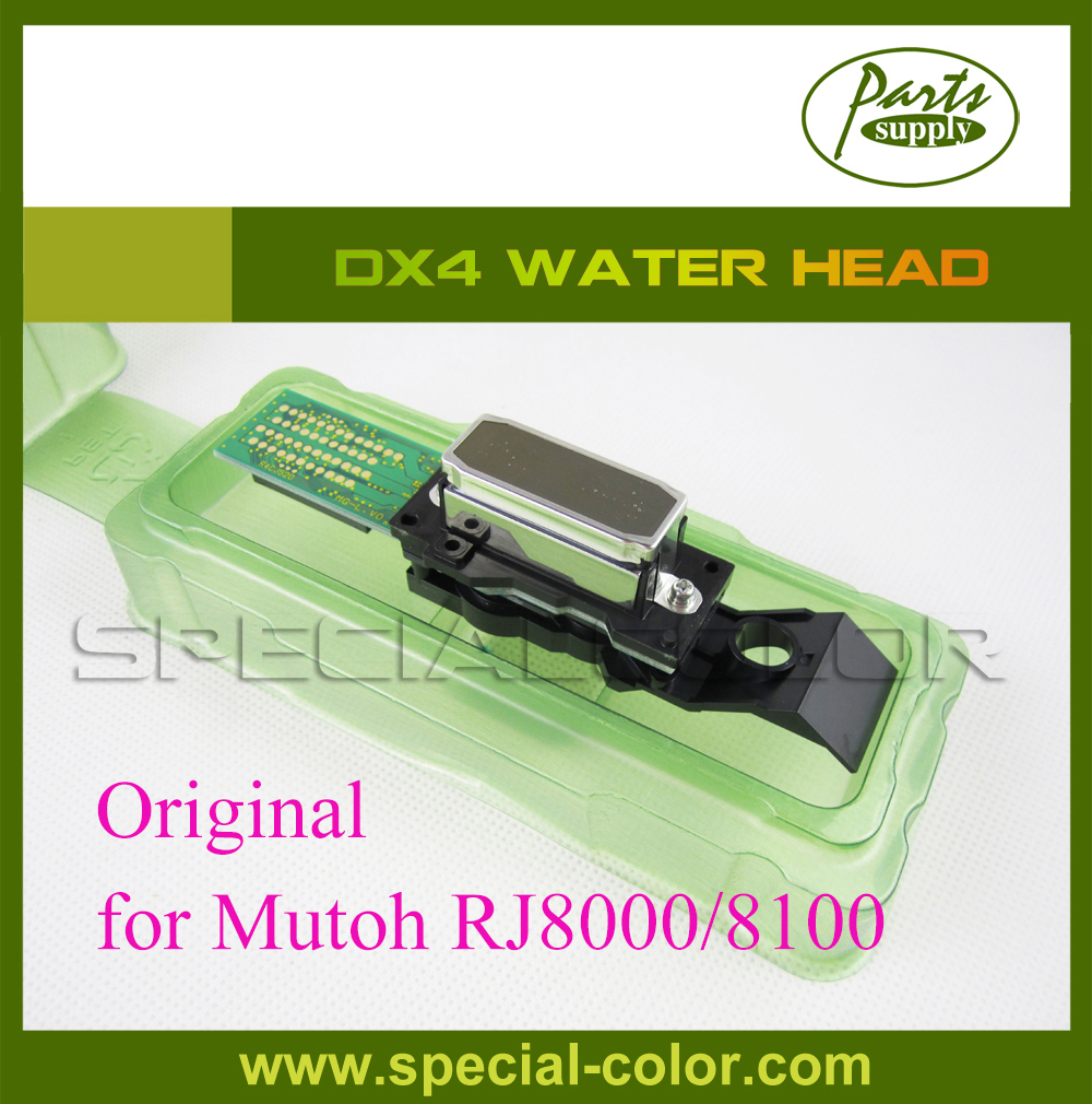 DX4 Printhead water based For Mutoh RJ8000/8100 (Get 2pcs DX4 Small Damper as Gift) brand new for epson original dx4 printhead for roland fj740 540 solvent print head get 2pcs dx4 small damper as gift