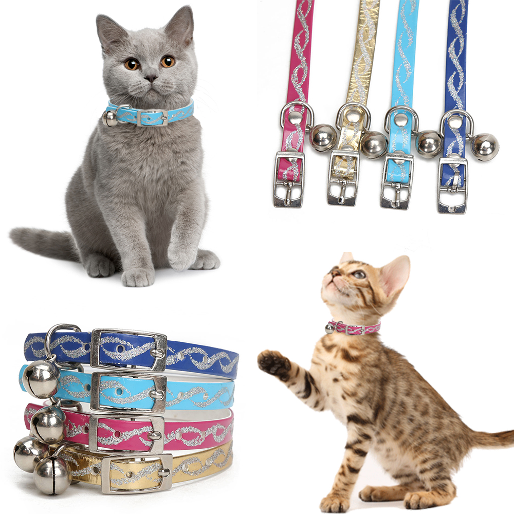 Cat-Collar-with-Bells-for-Small-Dogs-Pet-Necklace-Collar-4-Colors-Kitten-Puppy-Collar-Bell (1)