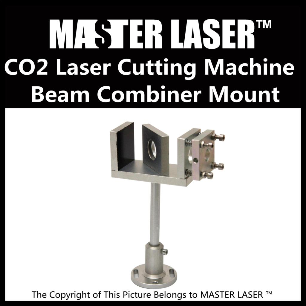 DIY for CO2 Laser Cutting Machine Red Beam Visible Tool Beam Combiner Mount Make CO2 Laser Seen by Naked Eyes economic al case of 1064nm fiber laser machine parts for laser machine beam combiner mirror mount light path system
