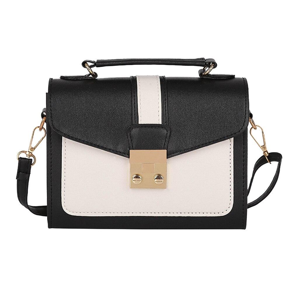New Arrival Women Mini Tote Handbags Summer Style Female Hit Color Messenger Bag Fashion Girls Small Shoulder Bag#Z shoulder bag