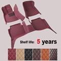 Alfombrillas coche pie alfombras paso esteras para LEXUS GX470 2003-2009. alta calidad del bordado + cuero + XPE Mats