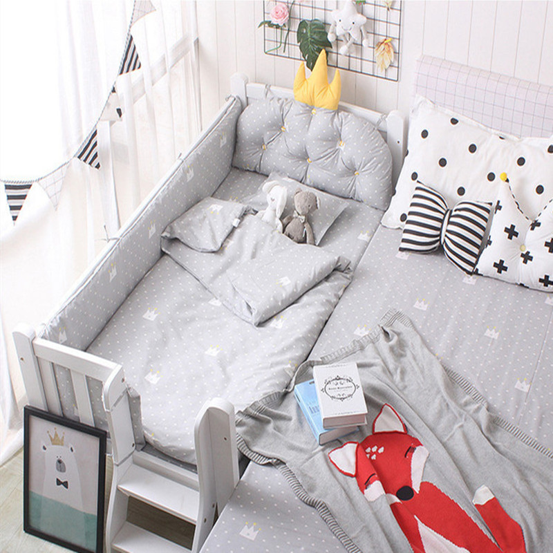 Baby Quilt Cover With Filling Soft Baby Bedding Set Kids Bed Linen Cotton Newborns Quilt Cover Spring Autumn 150*120cm Quality