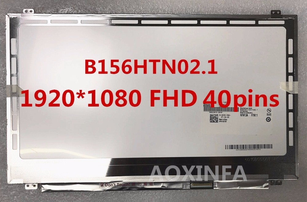 15.6LED Screen B156HTN02.1 B156HW03 Laptop lcd led screen 1920*1080 40pin 15 6led screen b156htn02 1 b156hw03 laptop lcd led screen 1920 1080 40pin