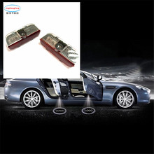 car accessories Ghost Shadow Light Welcome Lamp for Skoda  VW styling accesorios automovil door logo led