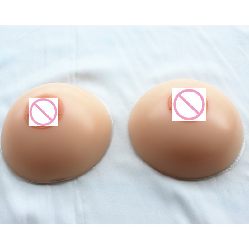 2000g/Pair 90/40E 95/42B 95/42C 100/44B Silicone Fake Breast Forms Natural Huge Boobs Round Shape For Transvestism With Straps 1800g pair 90 40c 95 42b 95 42c 95 42d for transvestism chest increase boobs thickening realistic silicone breast form device