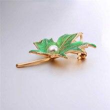 Maple Leaf Brooch (2 Colors)