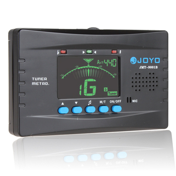 цена на JOYO JMT-9001B Digital Metro-Tuner Tone Generator with Metronome Function for chromatic / guitar/ bass / violin / ukulele