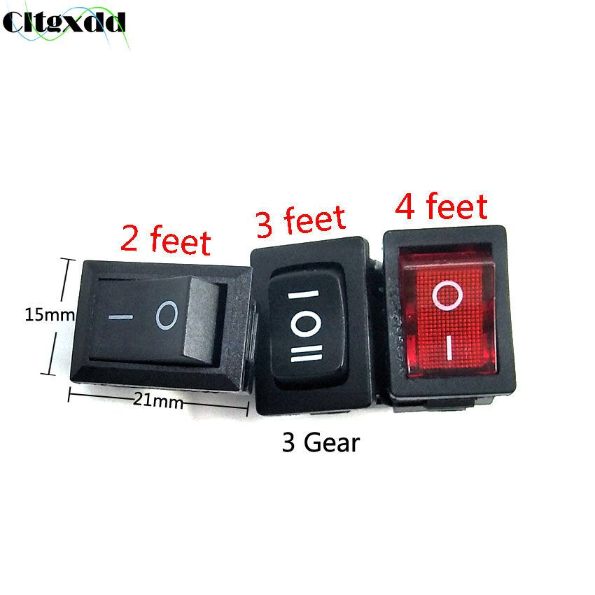 6a 10a 125v Kcd11 Snap-in On 3 4 Pin 3a 6a 250v Orderly Cltgxdd 1pcs Black Red Push Button Switch 2 Off Boat Rocker Switch Orders Are Welcome.