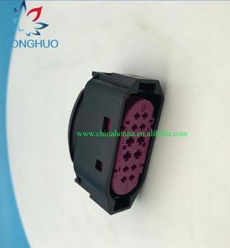 2/4/10pcs/lot 12 Pin/Way Female Xenon Headlight Plug Headlamp Connector 1J0 941 165 1J0941165 фото