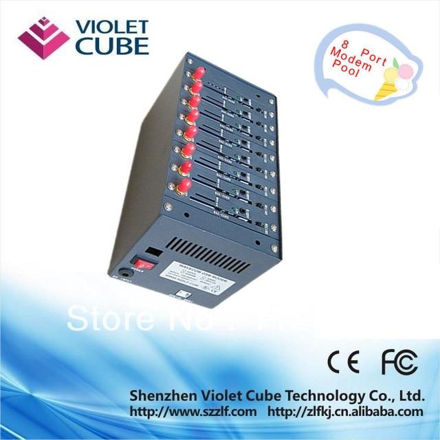 Free shipping 8 port SIM Card modem pool Q2303