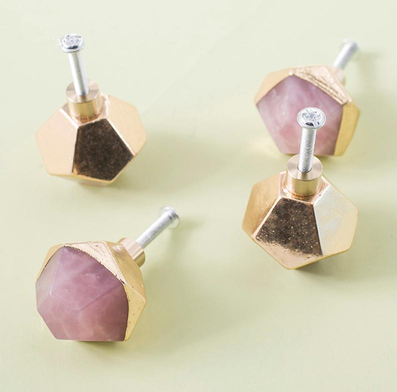 1pc Nordic Modern Brass Knobs Crystal Drawer Pulls Knob Door Handles Cabinet Pulls Handles Knob Dresser Knobs Funiture Hardware in Cabinet Pulls from Home Improvement