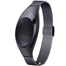 Oled-экран Bluetooth Водонепроницаемый Смарт-Браслет Артериального Давления Heart Rate Tracker SMS Сообщение Нажмите Для IOS Android Смартфон