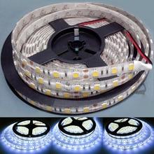 5M NEWEST12V 5050 300SMD Белый светодиодный гибкие полосы светильник DIY лампа Водонепроницаемый