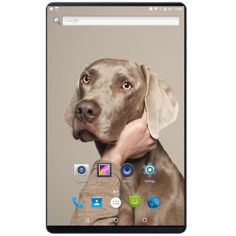 2019 nouveau 10 pouces Android 8.0 Octa Core 4G appel tablette Pc 4GB 64GB WiFi ordinateur portable double carte SIM téléphone appel Tab pc tablettes 10.1 + cadeau
