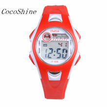 CocoShine A908  Children Boys Girls Swimming Sports Digital Wrist Watch Waterproof wholesale Free shipping