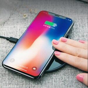 Image 5 - Chargeur sans fil 10W Qi pour iPhone X XS Max XR 8plus, chargeur sans fil USAMS charge rapide pour Samsung S8 S9 plus note 9 8 s7